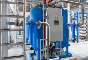 industrial drying machine fire safety protection system
