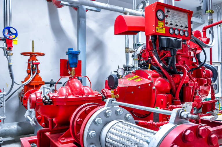 automatic fire sprinkler system company contractor